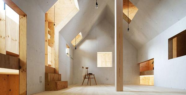 Ant house une maison minimaliste japonaise l 39 aetherium for Une maison minimaliste