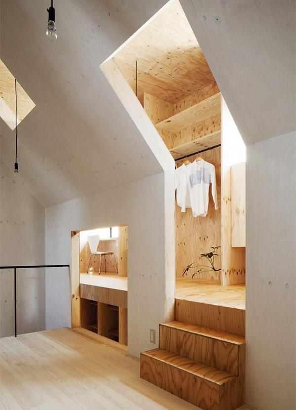 Ant house une maison minimaliste japonaise l 39 aetherium for Maison minimaliste