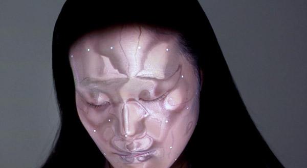 maquillage holographique