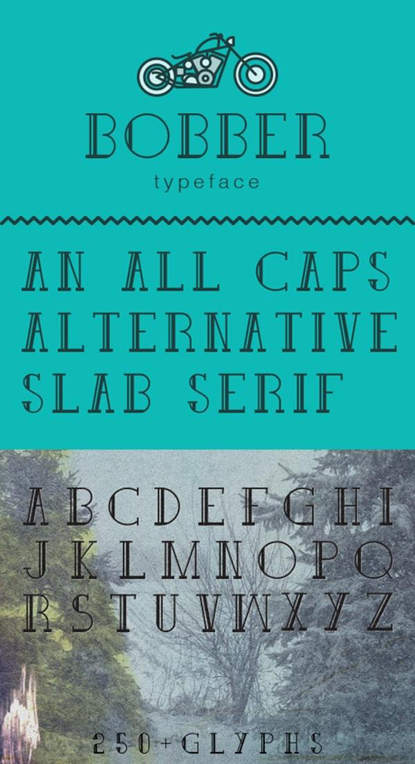 aetherconcept-font-hipster-bobber