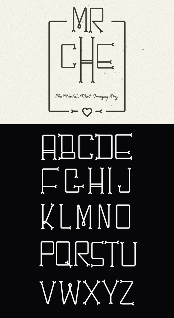 aetherconcept-font-hipster-chesbone
