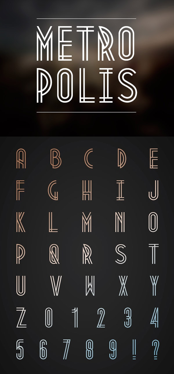 aetherconcept-font-hipster-metropolis