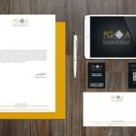 PGA Immobilier (via IPJ) - Identité visuelle