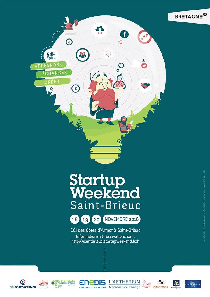 aetherium-affiche-startup-weekend-saint-brieuc