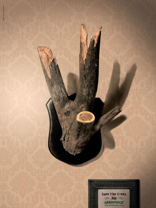 ''Sauvons les arbres''