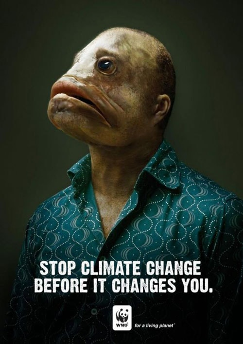 """""""Arrêtez le changement climatique avant qu'il ne vous change"""""""