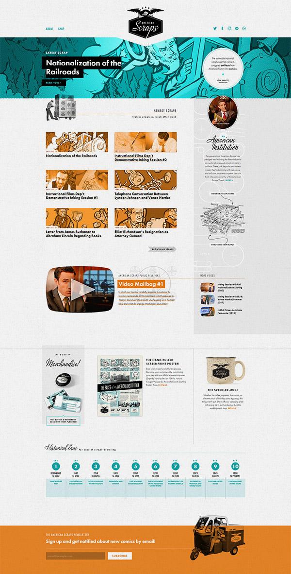 aetherium-webdesign-retro-americanscraps